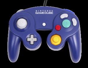 An official Nintendo Gamecube controller