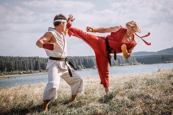 Street Fighter Assassins Fist Ryu and Ken