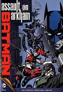 Batman Assault on Arkham cover