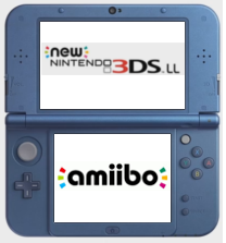 New 3DS XL / Amiibo Stylised Logo