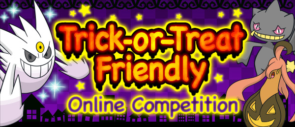 Trick or Treat Friendly English Logo