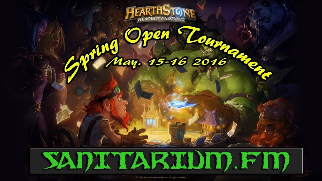 Hearthstone Spring Open
