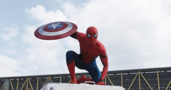 Captain America Winter Soldier - Spiderman