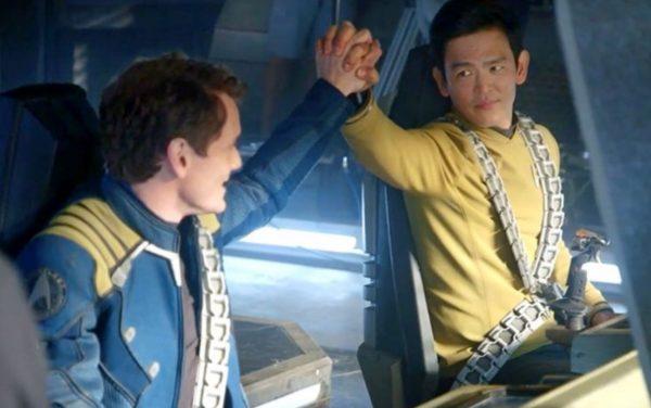 Star Trek Beyond Chekov and Sulu