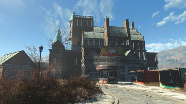 Fallout 4 dlc nuka world grandchester mystery mansion for Best house design fallout 4