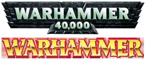 Warhammer 40,000 Logo and Warhammer Logo