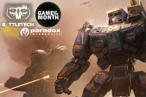 BattleTech i April's Game of the Month!