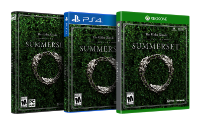 Elder scrolls Online - Summerset Screen box art