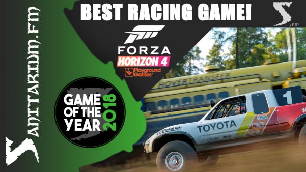 Game Of The Year Best Racing Game 2018 (Forza Horizon 4 - Playground Games)