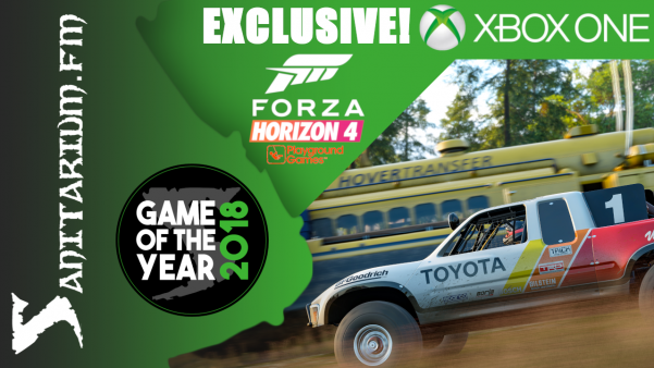 Game Of The Year (Console) XBox Exclusive (Forza Horizon 4 - Playground Games)