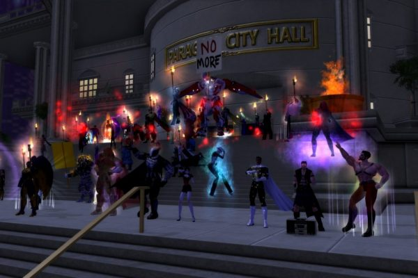 City of Heroes Homecoming screen 1