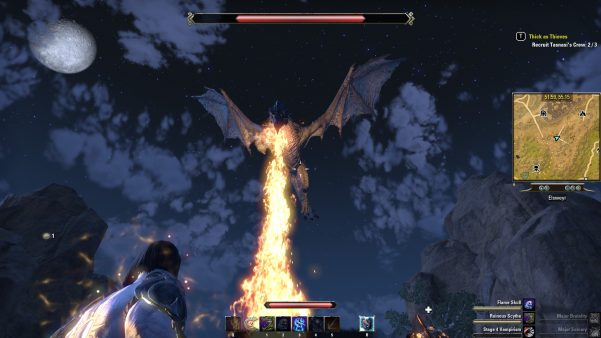 ESO Elseweyr dragon attack