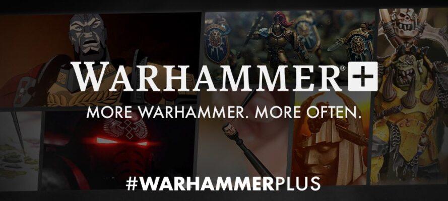 Warhammer Plus header
