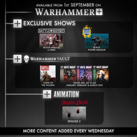 Warhammer Plus Week 2