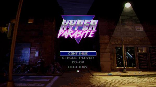 Hyper Parasite screen title