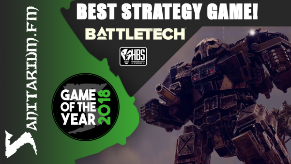 Game Of The Year Best Strategy Game 2018 (Battletech - Harebrained Schemes)