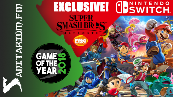 Game Of The Year (Console) Switch Exclusive (Super Smash Bros. Ultimate - BANDAI NAMCO Studios Inc.)
