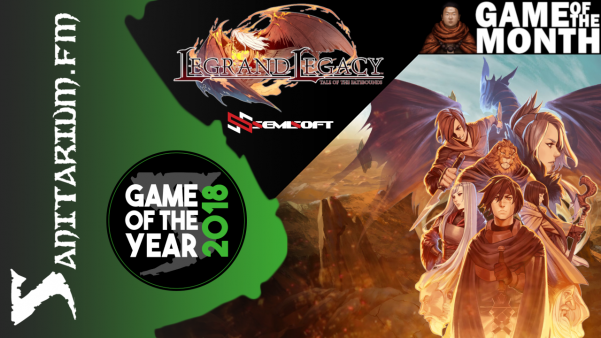 Game of the Month Game Of The Year Legrand Legacy - Semisoft Studios