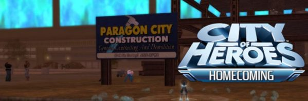 City of Heroes Homecoming header